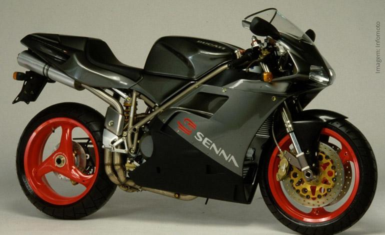 Ducati 916 - A moto preferida de Ayrton Senna