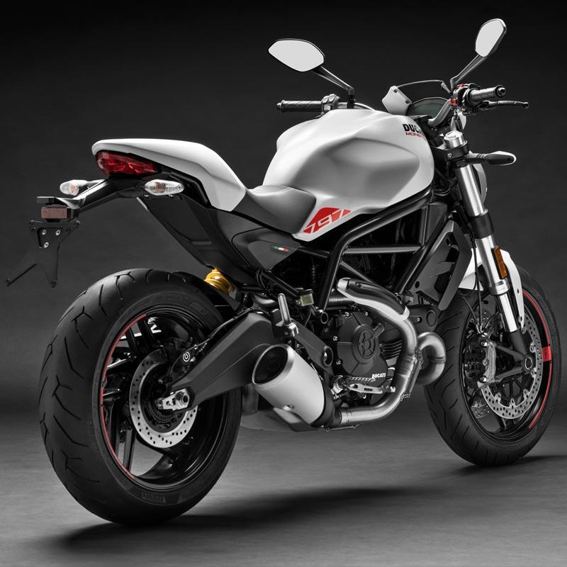 Capacidade do tanque de combustível - Ficha Técnica da Ducati Monster 797