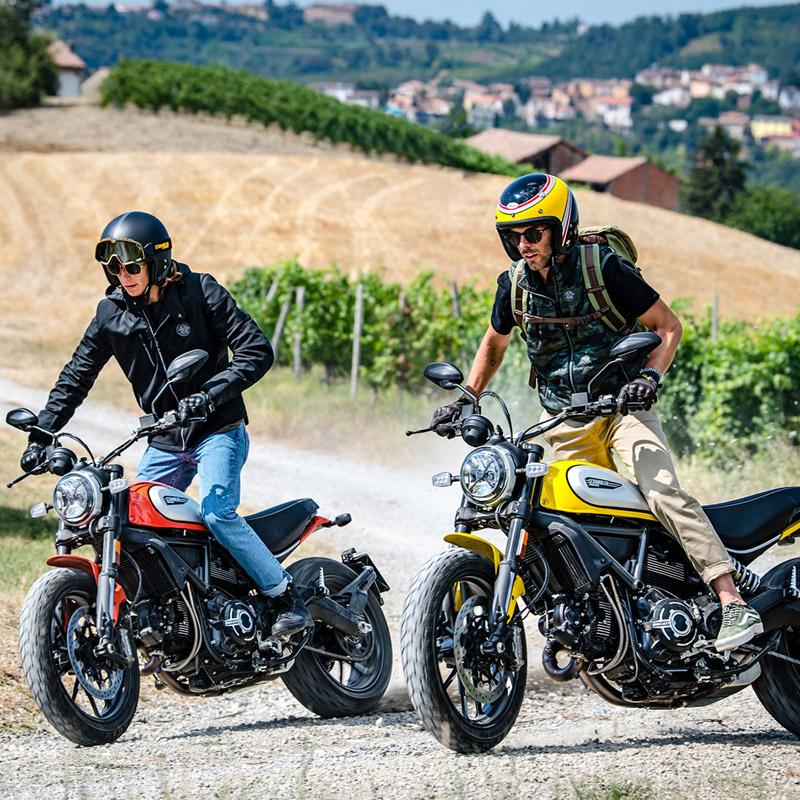 Ducati Scrambler defende o espírito livre - Ducati Scrambler em São Paulo