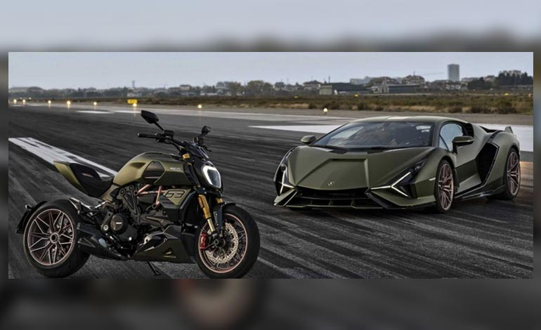 Diavel Lamborghini - Customização de motos: descubra o que é permitido em sua Ducati