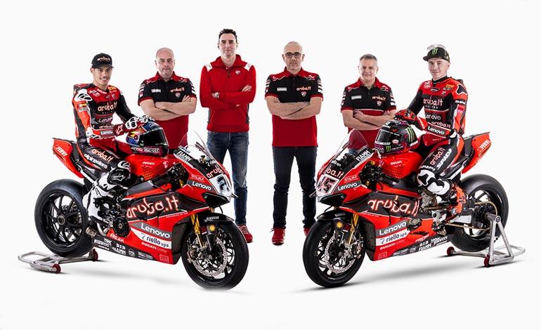 Mundial de Superbike 2021 Ducati é protagonista e referência para os concorrentes